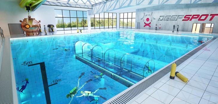 DEEPSPORT Бассейн глубиной 45 метров